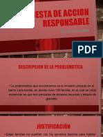 PROPUESTA DE ACCION RESPONSABLE SUSTENTACION