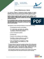 Akzo Nobel Powder Coat - Prevention, Cleaning Maintenance Guide.pdf