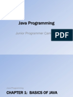 Java Programming (Junior Programmer Camp 7)