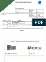 Insulation Installation Procedure