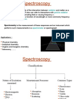 Uv Vis Spectroscopy