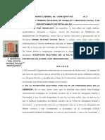 5. EXCEPCION DILATORIA DE FALTA DE PERSONALIDAD y PRESCRIPCIÓN