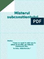 24229390 Misterul Subconstientului Ppt