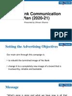 Yes bank Communication Plan-Shivam.pdf