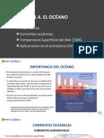 1.1.4. El Océano y sus efectos en la tropósfera