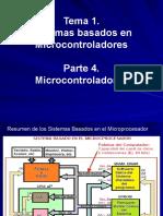 presentacion Tema 1. Parte 4. Sistemas Basados en el Microcontrolador