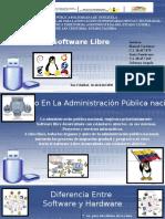 Software Libre   Corrección