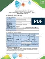 Guía de actividades y rúbrica de evaluación - Tarea 1 - Introducción al Curso.docx