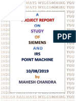 A PROJECT REPORT ON STUDY OF SIEMENS AND IRS POINT MACHINE.pdf