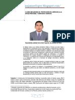 El Habeas Corpus Como Mecanismo de Protecciòn Del Derecho a La Libertad Personal y Derechos Conexos. Autor