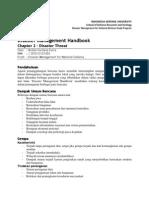 Book Review - Disaster Managemen Handbook