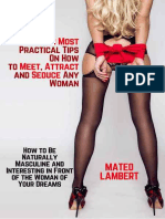 The 8 Most Practical Tips On How to Meet, Attract and Seduce Any Woman.epub