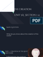 the creation unit 5a  section 1-4