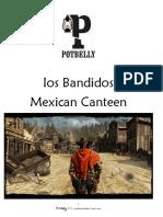 Potbelly Taco Menu