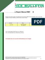14-05-2013 - Corrections To 1gr-Fe Clutch Unit Inspection Procedure