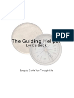 The Guiding Helper - Lyrics Book