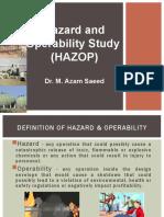 Lecture 4 Hazop study