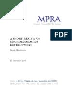 MPRA Paper 6883