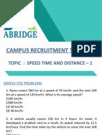 ABRIDGE - STD 1