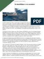 A ONU, O Direito Marítimo e Os Oceanos - ONU Brasil