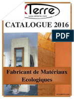 CATALOGUE 2016 AKTERRE