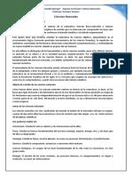 CIENCIAS NATURALES. clase 1