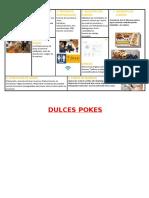 Modelo de negocio DulcesPokes