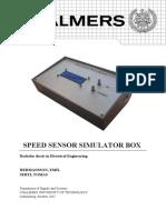SPEED SENSOR SIMULATOR BOX