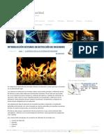 INTRODUCCIÓN SISTEMAS DE DETECCIÓN DE INCENDIOS _ Tecnología de la Seguridad