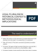 6. KKI- Legal Pluralism in the historical perspective - 2012.ppt