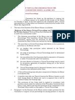 Guidance on Virtual Proceedings