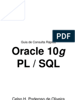 BD - Guia de Consulta Rápida ORACLE 10g PL SQL