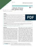 attitudea of physicians
