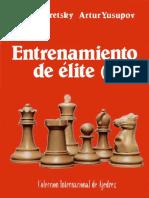 Dvoretsky & Yusupov - 1 Entrenamiento de Elite I