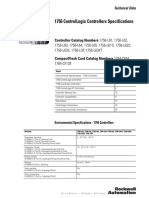 1756 ControlLogix Controllers Specifications.pdf