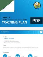 les mills training plan