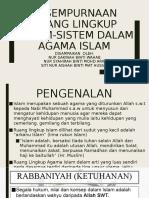 Kesempurnaan Ruang Lingkup Sistem-sistem Dalam Agama Islam