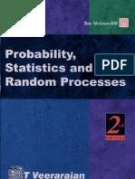 Probability- Statistics and Random Processes by Veerarajan