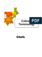 chefs-terminology