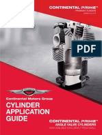 Continental Cylinder Application Guide