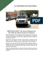 LA RUTA DEL NAZARENO DE SAN PABLO (1)