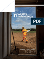 2018-2019 Wessex Archaeology Annual Impact Report