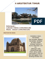Sejarah Arsitektur Timur