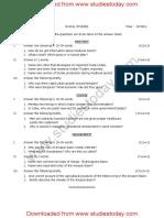 CBSE Class 7 Social Science Question Paper Set B.pdf