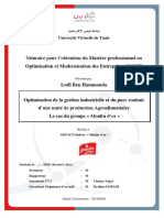 Rapport de Stage prod-agroalim Mouldor