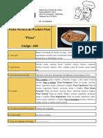 Ficha Técnica Pizza