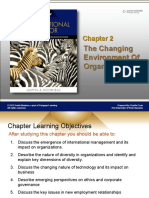 CHAPTER 2 CHANGING ENVIRONMENT IN ORGANIZATION