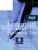 Longman Introductory Placement Test