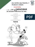 DIFERENCIA ENTRE MULTINIVEL Y TRABAJO COMÚN