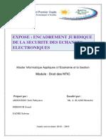 exposé surEncadrement juridique de la sécurité des échanges électroniques.pdf
